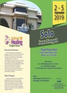 Brosur SOH Dasar Jawa Tengah 2019