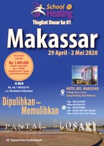 Flyer SOH Dasar Makassar Angkatan 81-2