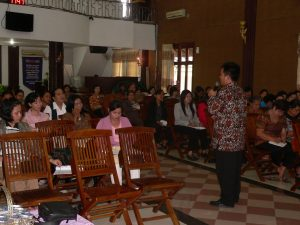 Seminar Pemulihan di GPPS El Shadai Samarinda 2011